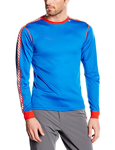 Helly-Hansen-Mens-Lifa-Dry-Stripe-Crew-Base-Layer-0