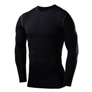 Mens-Boys-PowerLayer-Compression-Base-Layer-Baselayer-Top-Long-Sleeve-Under-Shirt-Crew-Neck-0