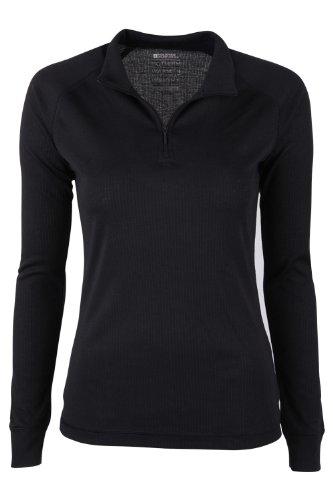 Mountain-Warehouse-Talus-Womens-Long-Sleeve-Zip-Neck-Tee-Shirt-Baselayer-Round-Neck-T-Shirt-Base-Layer-Outdoor-Antibacterial-Sport-0