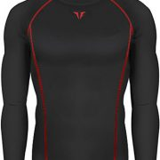New-199-Black-Skin-Tights-Compression-Base-Layer-Running-Long-Sleeve-Top-Mens-0-0