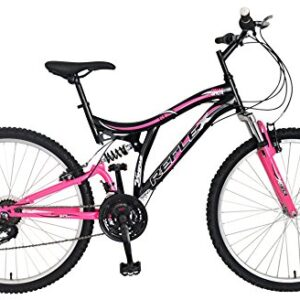 Reflex-Vogue-Full-Suspension-Bike-BlackPink-Size-26-0