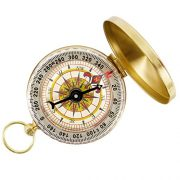Tonor-Camping-Hiking-Portable-Pocket-Watch-Flip-Open-Compass-Outdoor-Navigation-Tools-Gold-0
