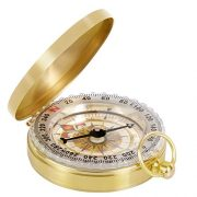 Tonor-Camping-Hiking-Portable-Pocket-Watch-Flip-Open-Compass-Outdoor-Navigation-Tools-Gold-0-2