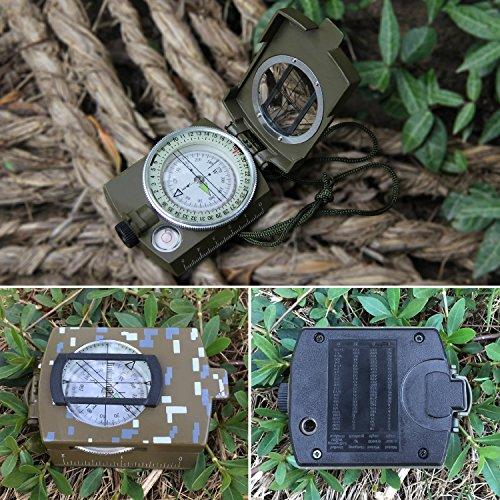 Tonor Multifunction Waterproof Military Metal Sighting