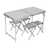 4-CHAIR-FOLDING-TABLE-SET-OUTDOOR-PICNIC-CAMPING-GARDEN-PORTABLE-KITCHEN-DINING-0-0