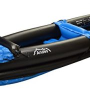 Andes-InflatableBlow-Up-Two-Person-KayakCanoe-With-Paddle-Water-Sports-0-1