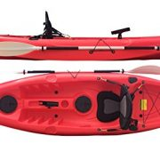 Bluefin-Single-Sit-On-Top-Fishing-Kayak-With-Rod-Holders-Storage-Hatches-Padded-Seat-Paddle-0-3
