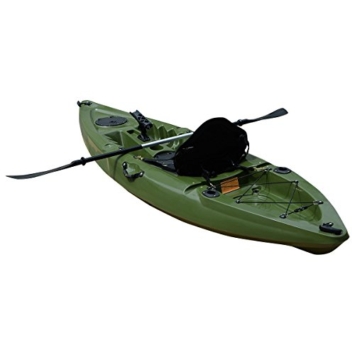 Fds 10ft bluefin sit on top sea fishing kayak canoe for Used fishing kayak