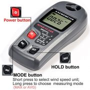 GRDE-Digital-Anemometer-LCD-Wind-Speed-Meter-Air-Flow-Temperature-Measurement-with-Backlight-for-Windsurfing-Kite-Flying-Sailing-Surfing-Fishing-Industrial-and-Family-Use-Speed-Reading-Modes-MAX-and-A-0-1