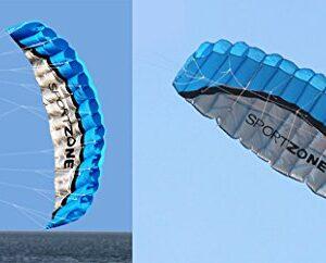 Joymod--I-Am-A-Bird-25M-Dual-Line-Rainbow-Sports-Beach-Parafoil-Power-Braid-Sailing-Kitesurf-Kite-0