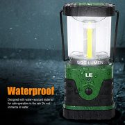 LE-500lm-LED-Lantern-9W-3-Lighting-Modes-Battery-Powered-Water-Resistant-Home-Garden-and-Camping-Lanterns-for-Hiking-Camping-Emergencies-Hurricanes-Outages-LED-Camping-Lantern-0-1