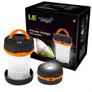 LE-Collapsible-LED-Camping-Lantern-Flashlight-Dual-Purpose-3-Modes-Battery-Powered-Water-Resistant-Home-Garden-and-Camping-Lanterns-for-Hiking-Emergencies-Outages-0