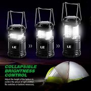 LE-Pack-of-2-Units-Portable-Collapsible-LED-Lantern-30-LEDs-Battery-Powered-Water-Resistant-Home-Garden-and-Camping-Lanterns-for-Hiking-Camping-Emergencies-LED-Camping-Lantern-0-0