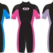 Ladies-TWF-3mm-Titanium-CIC-Shortie-Wetsuit-Choice-of-Colours-0-0