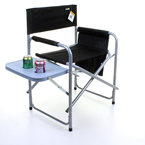 Marko Outdoor Folding Directors Chair Lightweight Portable