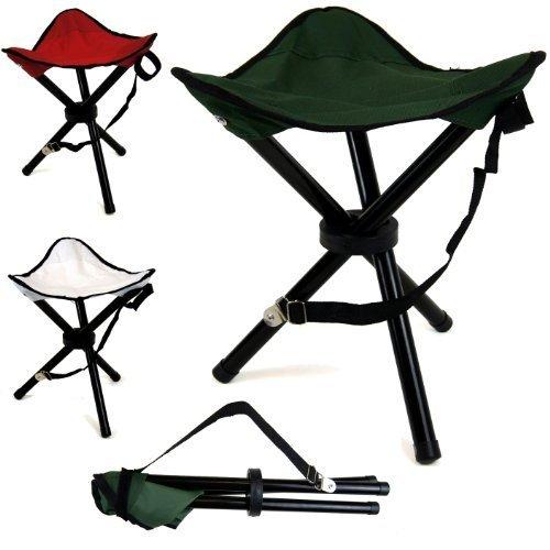 Portable Tripod Camping Hiking Fishing Festival Folding Chair Stool
