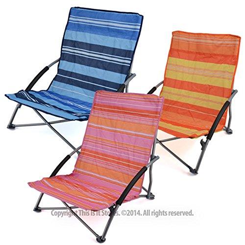Sisken Low Folding Beach Chair Rock And Mountain