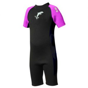 TWF-Kids-Shortie-2mm-Neoprene-Wetsuit-Dolphin-design-0