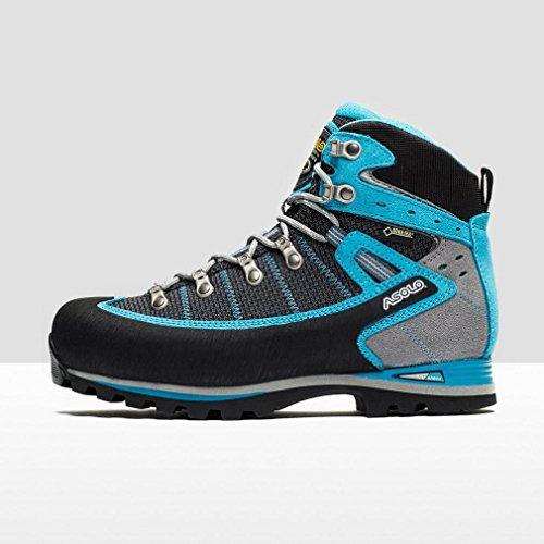 Asolo Shiraz Gv Mid Women S Walking Boots Black Blue Uk6