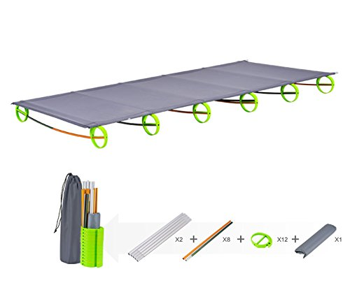 BRS-Folding-Picnic-Cot-Outdoor-Aluminium-alloy-Bed-Portable-Camping-Lounger-0