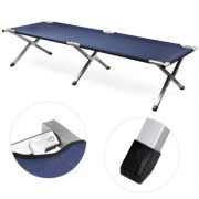 Beyondfashion-Safe-and-Strong-Aluminium-Frame-Single-Folding-Camp-Bed-Travel-Outdoor-Bed-Green-0-0