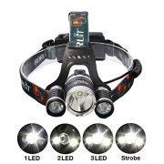 Boruit-5000Lumen-CREE-XM-L-XML-3-x-T6-LED-Headlight-Light-Headlamp-Head-Lamp-Flashlight-0-0