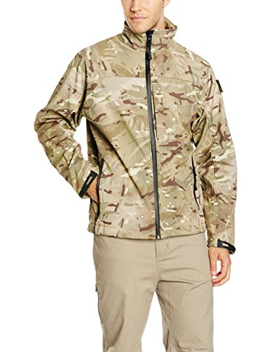 Highlander-Black-SOFTSHELL-Waterproof-Breathable-Mens-JACKET-0