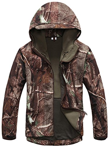 Kelmon-Mens-Outdoor-Softshell-Hooded-Tactical-Jacket-0