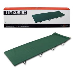 Milestone-Camping-4-Leg-Camp-Bed-Green-0