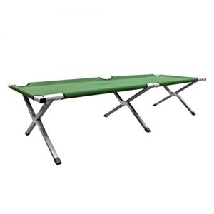 Milestone-Camping-Folding-Camp-Bed-Green-0