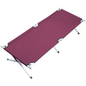 Skandika-16203-Camp-Bed-XXL-Dark-Red-0