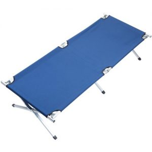 Skandika-XX-Large-Portable-Camping-Bed-Blue-210x80cm-0