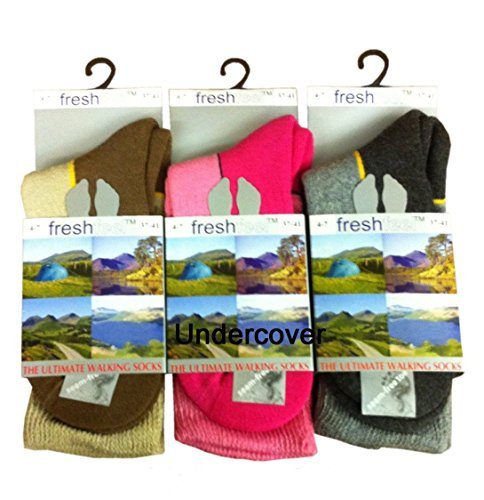 Undercover-Womens-Freshfeel-Ultimate-Walking-Hiking-Boot-Sock-3-Pair-0