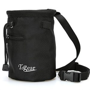 Rock-Climbing-Chalk-Bag-w-Drawstring-Closure-Belt-and-Zipper-Pocket-0