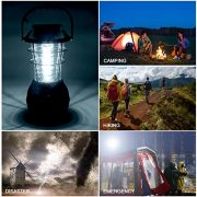 AGPTEK-Solar-Camping-Lantern-rechargeable-Camping-Light-with-5-Mode-of-recharging-Hand-DynamoSolarUSBCar-AC-Adapter-36LED-super-bright-Power-Bank-Emergency-Lamp-for-Outdoor-Fishing--0-5