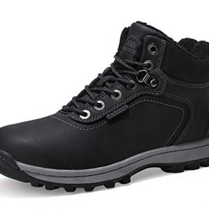 AX-BOXING-Snow-Boots-Mens-Womens-Winter-Warm-Ankle-Boots-Fully-Fur-Lined-Anti-Slip-Leather-Waterproof-Safety-Boots-Work-Shoes-Size-4-125-Holes-for-WalkingHikingOutdoorUrban-0