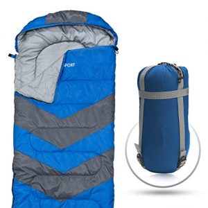 Abco-Tech-Sleeping-Bag--Envelope-Lightweight-Portable-Waterproof-Comfort-With-Compression-Sack-Great-For-4-Season-Traveling-Camping-Hiking-Outdoor-Activities-SINGLE-0