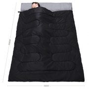 Active-Era-Double-Sleeping-Bag-Extra-Large-Queen-Size-Converts-into-2-Singles-3-Season-for-Camping-Hiking-Outdoors-0-2