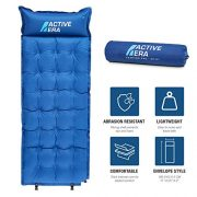 Active-Era-Self-Inflating-Camping-Pad-with-Pillow-and-Air-Pockets-Lightweight-and-Comfortable-Foam-Sleeping-Pad-0-0