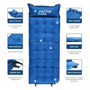 Active-Era-Self-Inflating-Camping-Pad-with-Pillow-and-Air-Pockets-Lightweight-and-Comfortable-Foam-Sleeping-Pad-0-1