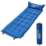 Active-Era-Self-Inflating-Camping-Pad-with-Pillow-and-Air-Pockets-Lightweight-and-Comfortable-Foam-Sleeping-Pad-0