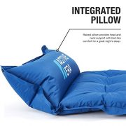 Active-Era-Self-Inflating-Camping-Pad-with-Pillow-and-Air-Pockets-Lightweight-and-Comfortable-Foam-Sleeping-Pad-0-2