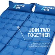 Active-Era-Self-Inflating-Camping-Pad-with-Pillow-and-Air-Pockets-Lightweight-and-Comfortable-Foam-Sleeping-Pad-0-3