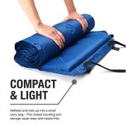 Active-Era-Self-Inflating-Camping-Pad-with-Pillow-and-Air-Pockets-Lightweight-and-Comfortable-Foam-Sleeping-Pad-0-5