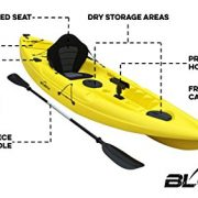 Bluefin-Single-or-Tandem-Sit-On-Top-Fishing-Kayak-With-Rod-Holders-Storage-Hatches-Padded-Seat-Paddle-0-6