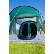 Coleman-Tent-Oak-Canyon-4-4-man-tent-with-BlackOut-Bedroom-Technology-Festival-Essential-2-bedroom-Family-Tent-100-waterproof-Camping-Tent-with-sewn-in-groundsheet-0-3