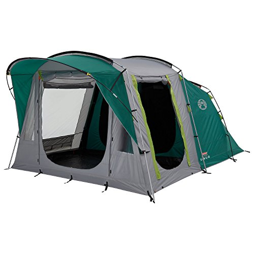 Coleman-Tent-Oak-Canyon-4-4-man-tent-with-BlackOut-Bedroom-Technology-Festival-Essential-2-bedroom-Family-Tent-100-waterproof-Camping-Tent-with-sewn-in-groundsheet-0