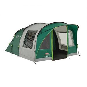 Coleman-Tent-Rocky-Mountain-5-Plus-5-man-tent-with-BlackOut-Bedroom-Technology-Festival-Essential-2-bedroom-Family-Tent-100-waterproof-Camping-Tent-with-sewn-in-groundsheet-0