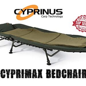 Cyprinus-New-Cyprimax-6-leg-recliner-Bedchair-Extra-comfy-padded-Carp-Night-Fishing-Camping-bed-guest-bed-0