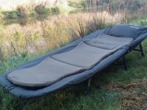 Cyprinus New Cyprimax 6 Leg Recliner Bedchair Extra Comfy